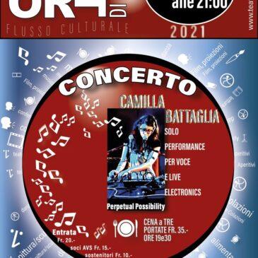 Concerto: Camilla Battaglia solo