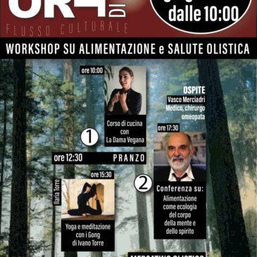 Workshop su Alimentazione e Salute Olistica