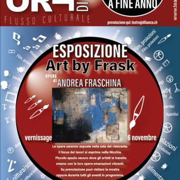 Esposizione Andrea Fraschina